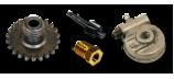 Tachometer und Drehzahlmesser Antriebsrad