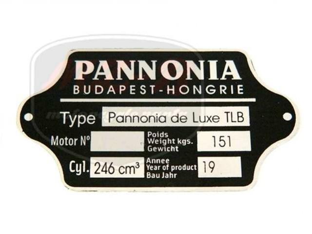 PANNÓNIA TLF TYPSCHILD /TLB/