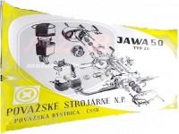 JAWA MUSTANG EXPLOSIONSZEICHNUNG VOM MOTOR