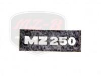 MZ/TS 250 KLEBEFOLIE /NEGATIV/