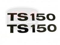 MZ/TS 150 KLEBEFOLIE PAAR